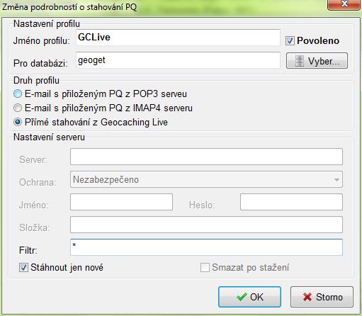 Import PQ - GC Live