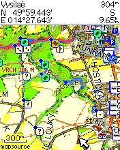 Vzhled bodů na mapě